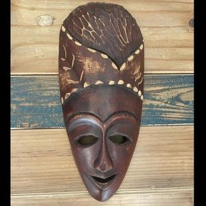 Beautiful vintage African mask